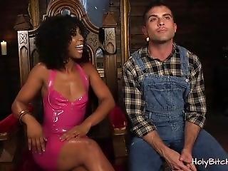 Udlænding, Femdom, Interracial, Sexet