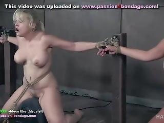 Nyssa And Nadia Hardtied[vibrator Bondage]