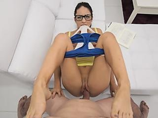 Study Break Quickie With Hot Spanish Gf