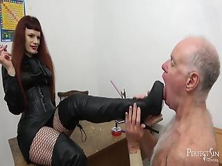 Boot Bitch Class Strict And Demanding Teacher Rebekka