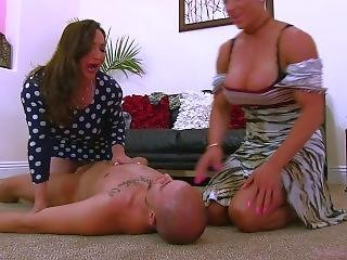 Body Builder Moms Ride Face And Suck Cock