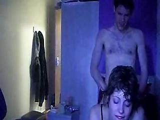 Cute Handcuffed Amateur Licks Ass And Gets Fucked
