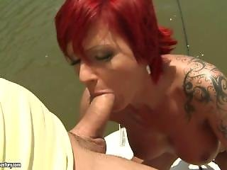 Vulgar Anal Sex On The Boat