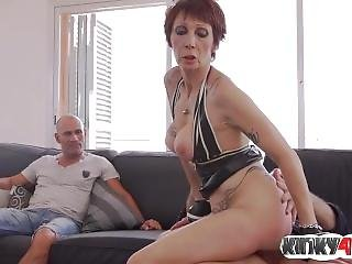 Hot Milf Cuckold With Cumshot