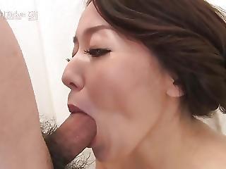 Japanese Mature Sucks Cock In Shower Uncensored Jav