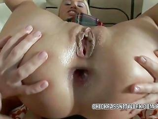 Blonde Coed Mia Is Getting Her Tight Teen Ass Pounded
