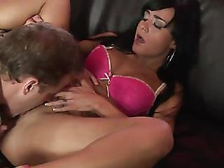 Hot Babe With Rock Hard Tits Gets A Good Fuck