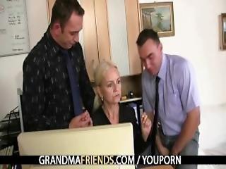 Trojka, Blonďaté, Babičky, Dospělé, Staré, Kunda, Trojka