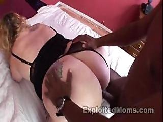 Mom With Big Butt Gets Full Of Black Dick In Interracial Video