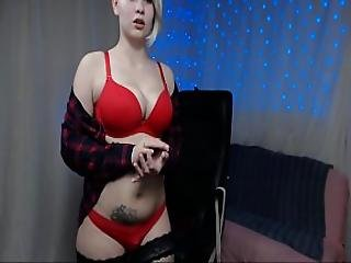 Russian Big Boobs Goddess Pumps Milk And Fingering Pussy Until Squirting