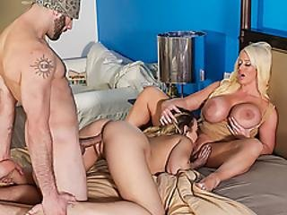 Blair Williams And Alura Jenson Felling Hot And Horny