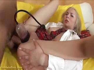 Teens First Extreme Gagging Lesson