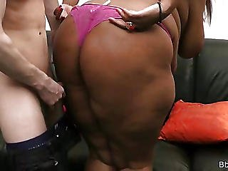 Golf Coach Nails A Black Bbw