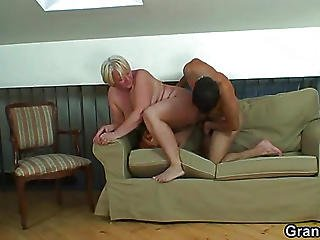 Old Fatty Rides Dick