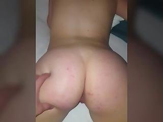 Blowjob And Doggy Style With Blonde Pawg Teen