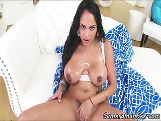 Busty Babe Pov Fucked During Ass Fucking