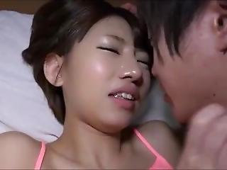 amatoriale, asiatica, giapponese, mentre dorme, Adolescente
