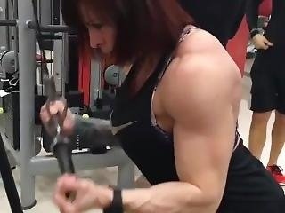Muscle Mom Biceps Workout
