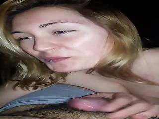 Cutie Pie Blows A Small Cock