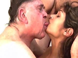 Big Old Man And Guy Fuck The Beautiful Teen
