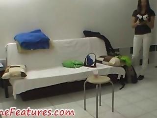 Erotic Backstage With Beautiful Czech Teen