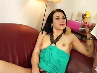 Shy Girl In Her First Porn Audition