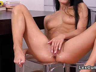 Exceptional Czech Stunner Lexi Dona Fingers And Cums