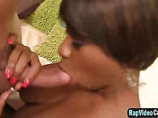 Ebony Sex Bomb Imani Rose Gets Vanilla Iced