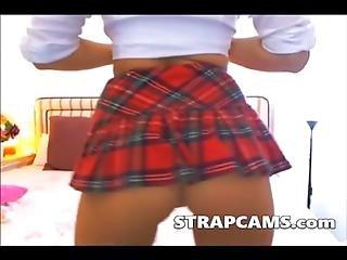 yndig, blond, danser, onani, teen, webcam