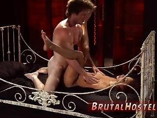 Teen Slave Even Has Several Bellowing Orgasms.