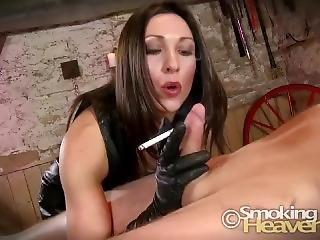 Smoking Blowjob From Stunning Woman