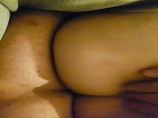 Sneaky Peek At Unaware Wife's Ass And Pussy