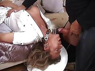 Big Boob, Boob, Boots, Deepthroat, Facial, Fucking, Milf, Smoking, Stocking, Throat Fuck