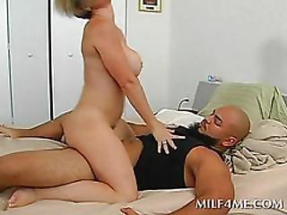 Blonde Milf Having Hardcore Sex At Home