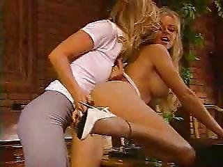 Dmvideos Hot Lesbian Blondes Ravage Each Other