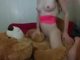Babygirlbella With Teddybear 2