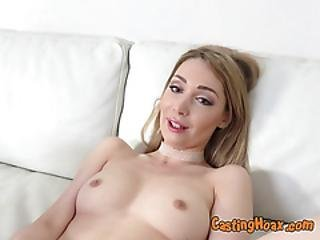 Blondie Lola Bambola Sucks Big Cock Of Fake Agent