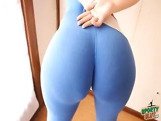 Big Booty Tiny Waist Explosive Combination Sporty Latina