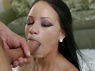 Ultra Huge Penis In Her Tight Mouth
