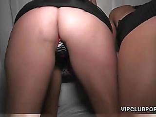 Busty Slut Gets Hammered On The Vip Room Floor