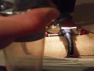 Vacuum Cleaner Sucking My Dick