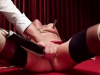 blondynka, bondage, fetysz, hardcore, masturbacja, poker, gwiazda porno, ostro, seks, kobiecy wytrysk, związana
