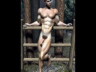 3d Straight Muscular Boys Get Barebacked By Horny Gay Alpha Males With Big Hard Cocks!