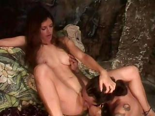 Outrageous Babe Gets Good Harvest Of Warm Cum1
