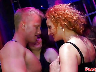 Real Party Euro Newbie Spoiling Cock