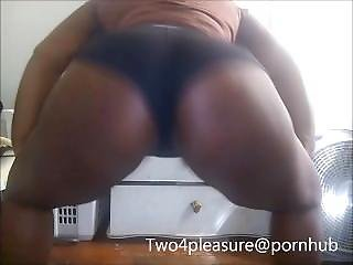 My Sexy Chocolate Girl Shows Her Pink Pussy