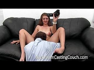 Young Anal Teen Swallows Agent S Cum