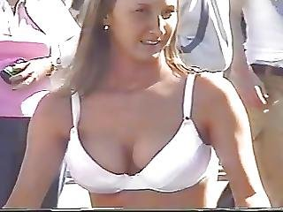 Breasts Ringing Shirt Out