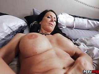 rompe, stor kukk, stor pupp, blowjob, brystet, kåt, voksent, milf, mor, pov