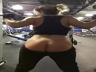 Gym Naked Booty